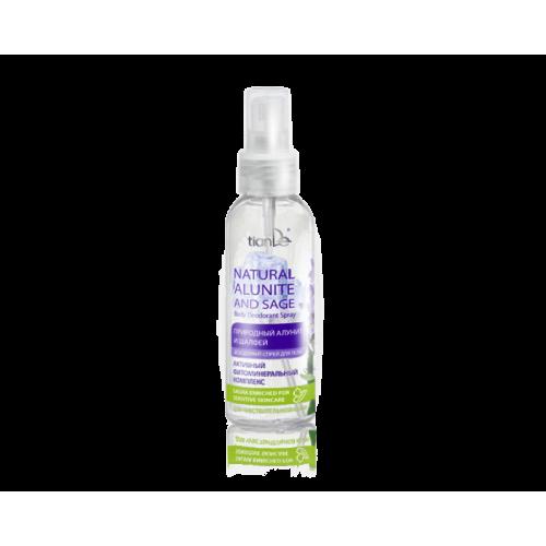 Sprej dezodorans za telo ''Natural alunite and sage'' 100ml