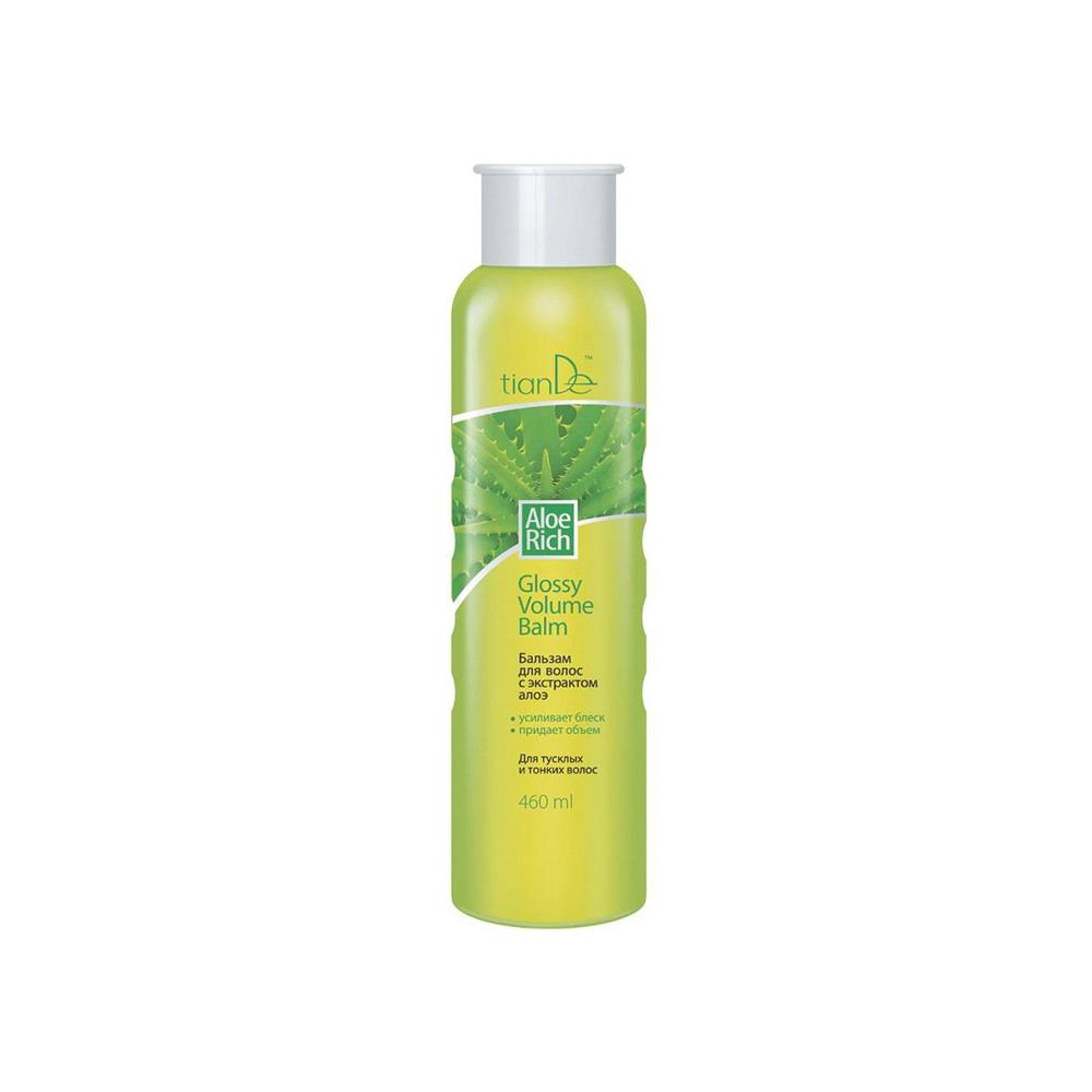 Aloe Rich Glossy balzam za volumen kose, 460 ml